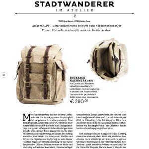 Presse Edition Magazin Seite 1, Geschichten über Handwerk, Handgriffe und Handwerker