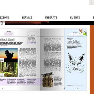 Weidwerk Diana Webseite lillicon Gewinnspiel